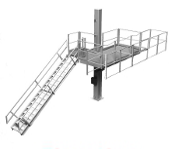 Elevating Platforms for Tank Truck and Rail Cars by G-RAFF